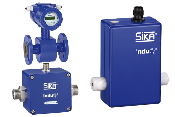SIKA Magnetic Inductive Flow Sensors